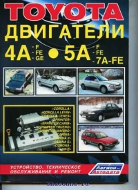 Двигатели Toyota 4А, 5А, 7А
